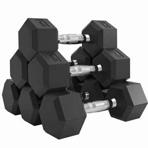 LZX-六角包胶哑铃